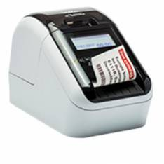 IMPRESORA ETIQUETAS BROTHER QL-820NWB 62MM/ 110EPM/ USB/ RED/ WIFI/ BLUETOOH/ CORTADOR AUTOMATICO/ IMPRESION EN 2 COLORES