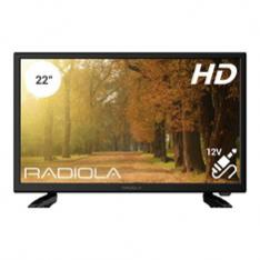 TV RADIOLA 22 FULL HD   HDMI  USB  ADAPTADOR 12V.