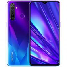 """TELEFONO MOVIL SMARTPHONE REALME 5 PRO SPARKLING BLUE / 6.3"""" / 128GB ROM / 4GB RAM / 48+8+2+2MPX - 16MPX / 4G / LECTOR HUELLA"""
