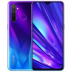 """TELEFONO MOVIL SMARTPHONE REALME 5 PRO SPARKLING BLUE / 6.3"""" / 128GB ROM / 8GB RAM / 48+8+2+2MPX - 16MPX / 4G / LECTOR HUELLA"""
