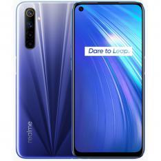 TELEFONO MOVIL SMARTPHONE REALME 6 COMET BLUE   6.5   128GB ROM   4GB RAM   64MPX - 16MPX   LECTOR HUELLA