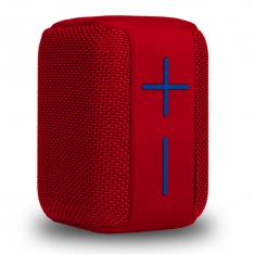 ALTAVOZ PORTATIL BLUETOOTH NGS ROLLER COASTER RED / 10W / BLUETOOTH 5.0 TWS / ENTRADA USB / MICRO SD / AUX IN / IPX6 / ALCANCE 10M / BATERIA 1200MAH