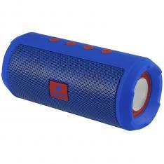 ALTAVOZ PORTATIL NGS ROLLER TUMBLER BLUE 6W/ USB/ MICRO SD/ BLUETOOTH/ RADIO FM / BAT 1200MAH