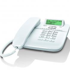 TELEFONO FIJO GIGASET DA611 BLANCO 100 NUMERIO AGENDA/ 10 MELODIAS