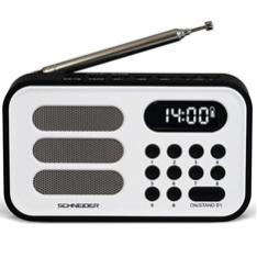 RADIO DIGITAL SCHNEIDER HANDY MINI BLANCO
