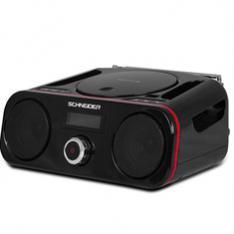 RADIO CD SCHNEIDER DIABOLO NEGRO/ BLUETOOTH/ USB