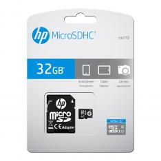 TARJETA MEMORIA MICRO SECURE DIGITAL SD HP 32GB CLASS 10 U1
