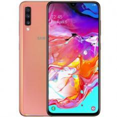 """TELEFONO MOVIL SMARTPHONE SAMSUNG GALAXY A70 ROSA CORAL/ 6.7""""/ 128GB ROM/ 6GB RAM/ 32+5+8 Mpx - 32Mpx/ 4500 mAh/ DUAL SIM/ HUELLA"""