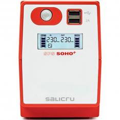SAI SALICRU SPS 500 SOHO+ 500VA  300W  LINEA INTERACTIVA  SCHUKO