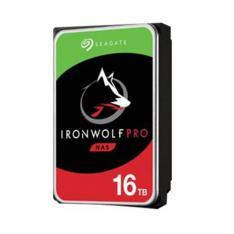 "DISCO DURO INTERNO HDD SEAGATE IRONWOLF NAS ST16000NE000 16TB 3.5"" 7200RPM/ 256MB/ SATA 6GB/S"