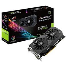 TARJETA GRAFICA ASUS NVIDIA GEFORCE ROG STRIX-GTX1050TI-O4G 4GB DVI-D HDMI DISPLAY PORT