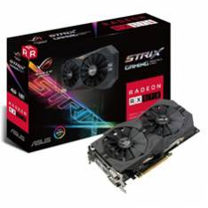 TARJETA GRAFICA ASUS AMD ROG STRIX-RX570-4G-GAMING 4GB GDDR5 DVI HDMI DISPLAY PORT