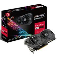 TARJETA GRAFICA ASUS RADEON ROG STRIX-RX570-O4G GAMING 4GB GDDR5 DVI HDMI DISPLAY PORT