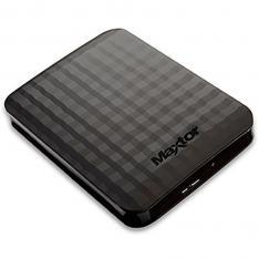 "DISCO DURO EXTERNO HDD MAXTOR M3 STSHX-M201TCBM 2TB 2000GB 2.5"" USB 3.0 NEGRO MATE"
