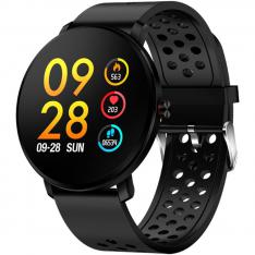 PULSERA RELOJ DEPORTIVA DENVER SW-171 NEGRO  SMARTWATCH  IPS  1.3   BLUETOOTH  IP67