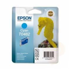 CARTUCHO TINTA EPSON T048240 CIAN STYLUS PHOTO R200/R300/500/600/ CABALLITO DE MAR