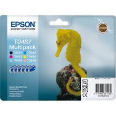 MULTIPACK TINTA EPSON C13T04874010 6 COLORES
