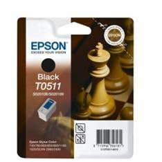CARTUCHO TINTA EPSON T051140  NEGRO 1520 740 760 800 850 860 Scan 2000 Scan 2500/ AJEDREZ
