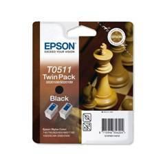 MULTIPACK CARTUCHO TINTA EPSON T05114 2 CARTUCHOS NEGRO  740/760/800/850/860/1160/ AJEDREZ