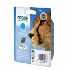 CARTUCHO TINTA EPSON T071240 CIAN 7ML STYLUS D78/92/ 120/ DX40X0/ 44X0/ 50X0/ 60X0/ 74X0/ 84X0/ 7000F/ GUEPARDO