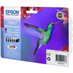 MULTIPACK TINTA EPSON T08074 T080140+240+340+440 +540+640/ COLIBRI