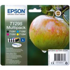 MULTIPACK TINTA EPSON C13T12954012 NEGRO  CIAN  MAGENTA  AMARILLO MANZANA