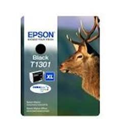 CARTUCHO TINTA EPSON T1301 NEGRO STYLUS SX525WD/620FW/B42WD/525WD/625FWD/ CIERVO