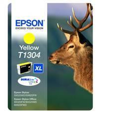 CARTUCHO TINTA EPSON T1304 AMARILLO EPSON STYLUS SX525WD/620FW/B42WD/525WD/625FWD/ CIERVOS