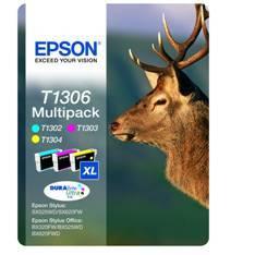 CARTUCHO TINTA EPSON T130640 MULTIPACK STYLUS SX525WD/620FW/B42WD/525WD/625FWD/ CIERVO