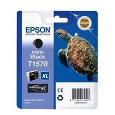 CARTUCHO TINTA EPSON T157840 NEGRO MATE PARA EPSON PHOTO R3000 / C13T15714010/ TORTUGA