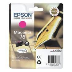 CARTUCHO TINTA EPSON T162340 MAGENTA  WF-2010/2510/2520/2530/2540/ PLUMA