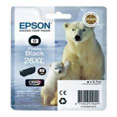 CARTUCHO TINTA EPSON T263140 PHOTO NEGRO  XL XP-600/605/700/800/ OSO POLAR