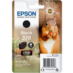 CARTUCHO TINTA EPSON C13T37814010 SINGLEPACK NEGRO 378 CLARIA PHOTO HD INK XP-8500 ARDILLA