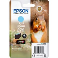 CARTUCHO TINTA EPSON C13T37854010 SINGLEPACK LIGHT CYAN 378 CLARIA PHOTO HD INK XP-8500 ARDILLA