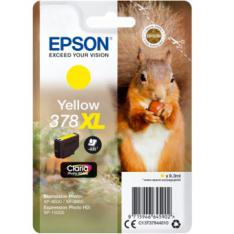 CARTUCHO TINTA EPSON C13T37944010 SINGLEPACK AMARILLO 378XL CLARIA PHOTO HD INK ARDILLO