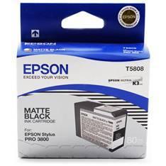 CARTUCHO TINTA EPSON T5808 NEGRO MATE STYLUS PRO 3800/3880