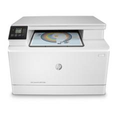 MULTIFUNCION HP LASER COLOR LASERJET PRO M180N A4/ 16PPM/ USB/ RED