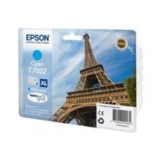 CARTUCHO TINTA EPSON T702240 CIAN ALTA CAPACIDAD  WP4000/4500 2400PAG/ TORRE EIFFEL