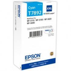 CARTUCHO TINTA EPSON C13T789240 CIAN XXL 4000 PAGINAS