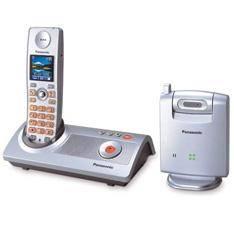 TELEFONO INALAMBRICO DIGITAL PANASONIC KX-TG9140 CON CAMARA, CONTESTADOR DIGITAL Y CAMARA A COLOR, VIGILANCIA