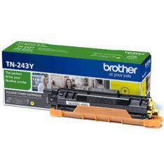 TONER BROTHER TN243Y AMARILLO 1000 PAGINAS DCPL3510CDW/ HLL3270CDW/ HLL3290CDW/ MFCL3710CW/ MFCL3730CDN/ MFCL3750CDW/ MFCL3770CDW