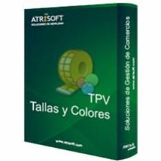 PROGRAMA TPV TALLAS Y COLORES ATRISOFT LICENCIA ELECTRONICA CODIGO ACTIVACION EN FACTURA