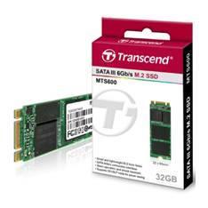 DISCO DURO INTERNO SOLIDO HDD SSD TRANSCEND TS32GMTS600 32GB M.2 type 2260 MLC SATA III 6GB/S