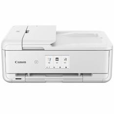 MULTIFUNCION  CANON TS9551C INYECCION COLOR PIXMA A3/ BLANCA/ RED/ WIFI/ DUPLEX IMPRESION/ ADF/ TINTAS INDEPENDIENTES/ LCD TACTIL