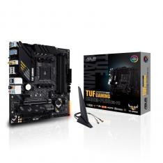 PLACA BASE ASUS AMD TUF GAMING B550M-PLUS WIFI SOCKET AM4 DDR4 X4 MAX 128GB 2933MHZ DISPLAY PORT HDMI MATX