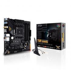 PLACA BASE ASUS AMD TUF GAMING B550M-PLUS WIFI SOCKET AM4 DDR4 X4 MAX 128GB 2933MHZ DISPLAY PORT HDMI MATX