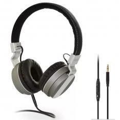 AURICULARES DIADEMA FONESTAR TVPHONES-62   20-20000HZ   POTENCIA 100MW   CABLE 5M   JACK 3.5MM   COLOR NEGRO   PLATA