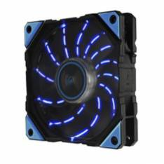 VENTILADOR GAMING ENERMAX DF VEGAS 12CM LUCES LED AZUL MODDING ANTI POLVO