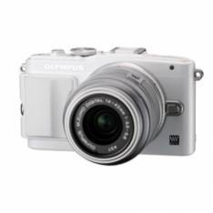 "CAMARA DIGITAL OLYMPUS E-PL6 EXPRESION KIT BLANCA 16MP/ 14-42MM/LCD 3""/FULL HD +SD 8GB WIFI"