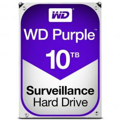 DISCO DURO INTERNO HDD WD WESTERN DIGITAL PURPLE WD101PURZ 10TB 3.5 SATA3 7200RPM 256MB